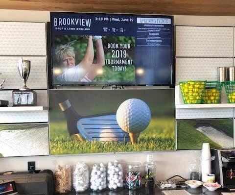 Golf Shop Digital Menu Boards