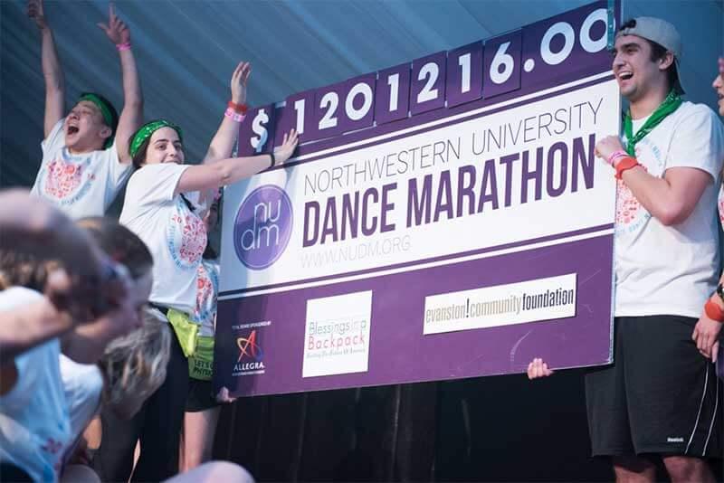 REACH partners with Northwestern University to make Northwestern Dance Marathon a success!